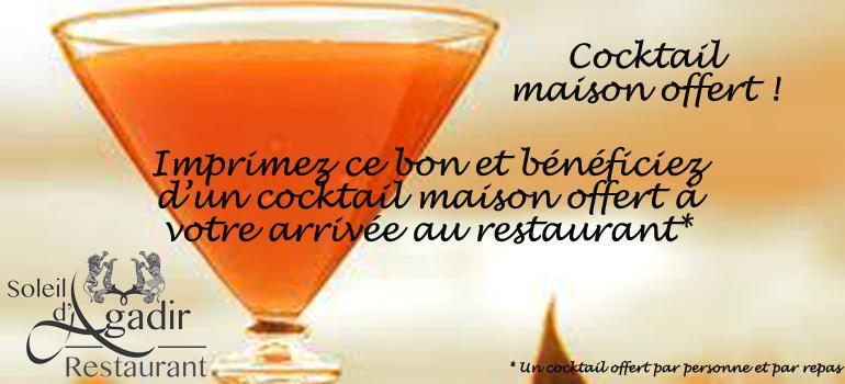 cocktail offert soleil d'agadir lille