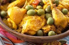 tajine poulet olives citron$
