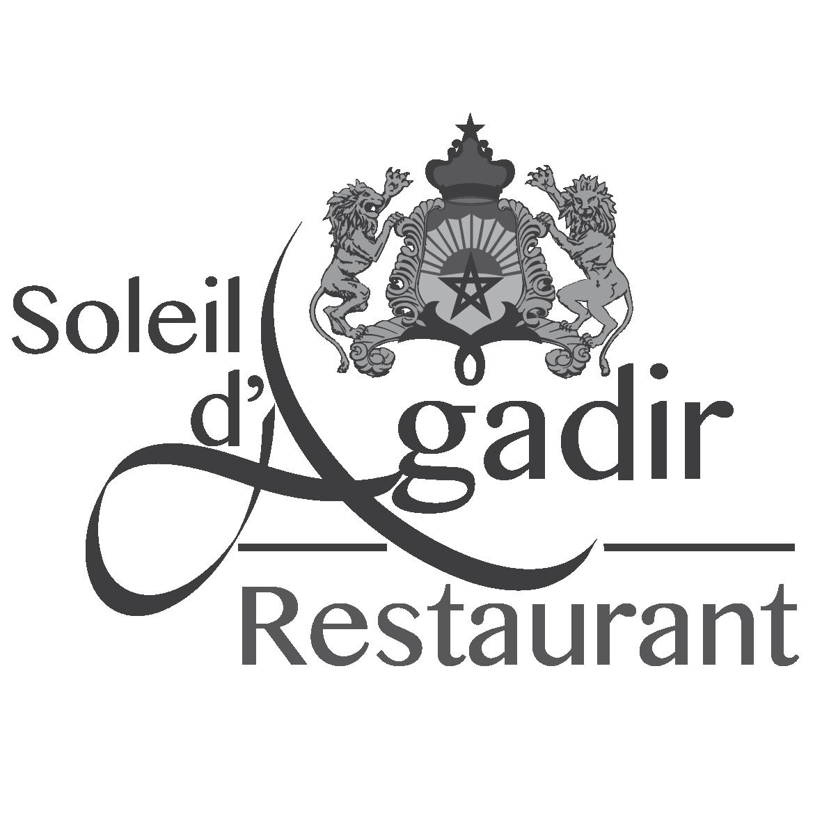 logo soleil d'agadir restaurant couscous lille